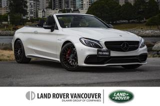 Used 2017 Mercedes-Benz C63 AMG S AMG Cabriolet *Local With No Accidents! for sale in Vancouver, BC