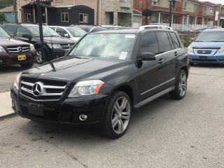 Used 2010 Mercedes-Benz GLK-Class 4MATIC 4dr GLK 350 for sale in Scarborough, ON