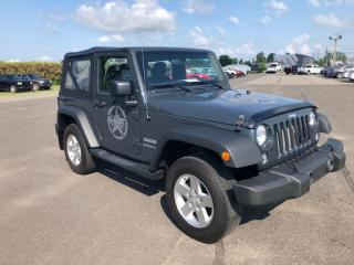 Used 2017 Jeep Wrangler SPORT for sale in Lévis, QC
