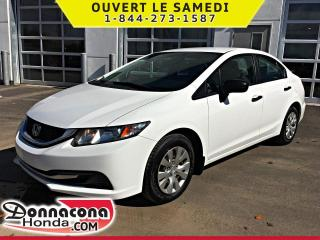 Used 2014 Honda Civic DX *GARANTIE 10 ANS/ 200 000KM* for sale in Donnacona, QC