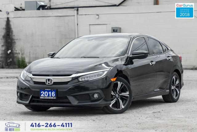 2016 Honda Civic Touring 1Owner CleanCarfaxCertifiedServiced NavGPS