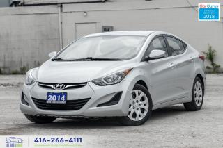 Used 2014 Hyundai Elantra Auto Certified Serviced New Tires&Brakes Spotless for sale in Bolton, ON