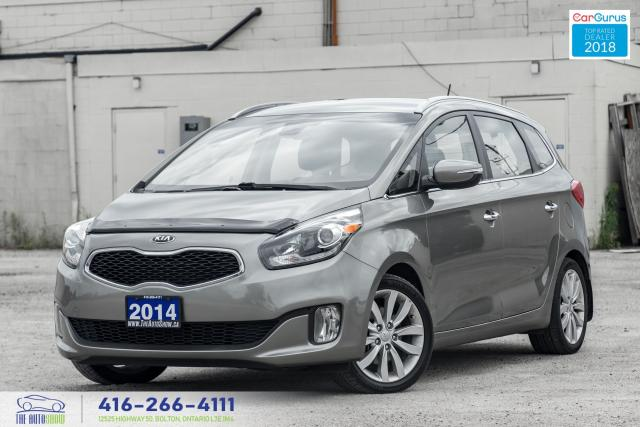 2014 Kia Rondo 1 Owner Kia Serviced Leather RCam Certified Clean