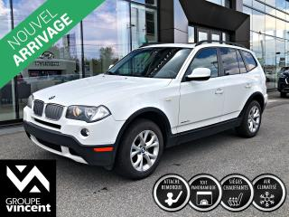 Used 2010 BMW X3 Xdrive Xdrive Gar. for sale in Shawinigan, QC