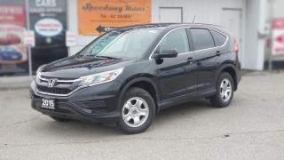 Used 2015 Honda CR-V LX for sale in Mississauga, ON
