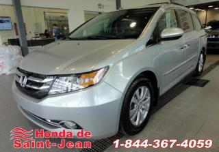Used 2015 Honda Odyssey EX-L avec RES Cuir Mags DVD for sale in St-Jean-Sur-Richelieu, QC