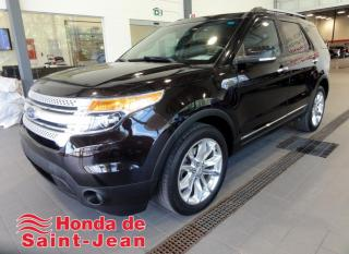 Used 2014 Ford Explorer 4 RM, XLT Navi Cuir Toit Camera Mags for sale in St-Jean-Sur-Richelieu, QC