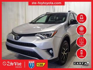 Used 2017 Toyota RAV4 SE AWD *GPS, AC, SIEGES CHAUFFANTS, TOIT OUVRANT* for sale in Québec, QC