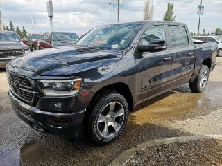 Used 2019 RAM 1500 SPORT 4x4 CREW CAB for sale in Edmonton, AB