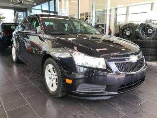 Used 2012 Chevrolet Cruze LT TURBO, STEERING WHEEL CONTROLS, CRUISE CONTROL AUX PORT for sale in Edmonton, AB