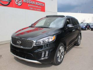 Used 2016 Kia Sorento SX/AWD/ONE OWNER/LEATHER/SUNROOF for sale in Edmonton, AB