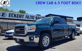 Used 2015 GMC Sierra 1500 SLE/Z71 PACKAGE/CREW CAB/6.5 FT BOX for sale in Barrie, ON