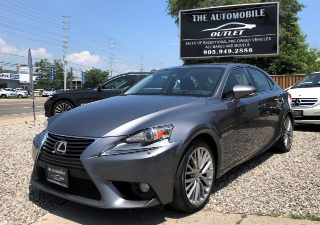 2014 Lexus IS 250 AWD BACK-UP CAM LEATHER SUNROOF