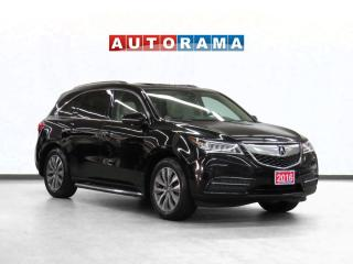 Used 2016 Acura MDX Tech Pkg AWD Navigation Leather Sunroof Backup Cam for sale in Toronto, ON