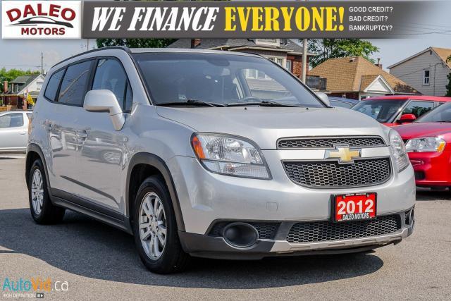 2012 Chevrolet Orlando 1LT | 7 PASSENGER | BLUETOOTH |