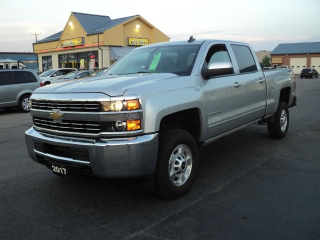 2017 Chevrolet Silverado 2500 HD LT CrewCab 4x4 6.0L 6.6ft Box