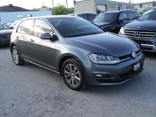 Used 2015 Volkswagen Golf LEATHER,SUN ROOF,NAVIGATION, CAMERA for sale in Oakville, ON