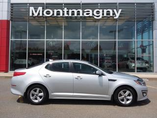 Used 2015 Kia Optima LX AT for sale in Montmagny, QC
