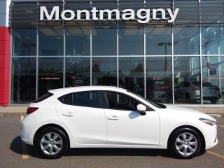 Used 2017 Mazda MAZDA3 Sport Hayon 4 portes Sport, boîte automatique, for sale in Montmagny, QC