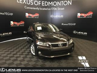 Used 2013 Lexus CT 200h TOURING PACKAGE for sale in Edmonton, AB