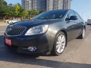 Used 2015 Buick Verano Excellent Condition-Navi-Bk Up Cam-Bluetooth-Alloy for sale in Scarborough, ON