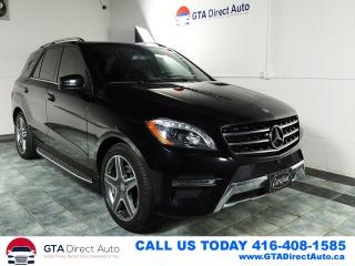 Used 2015 Mercedes-Benz M-Class ML350 BlueTEC Diesel Nav Pano P1 AMG AWD Certified for sale in Toronto, ON