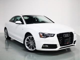 Used 2015 Audi A5 COUPE   S-LINE   1-OWNER   POWER SUNROOF for sale in Vaughan, ON