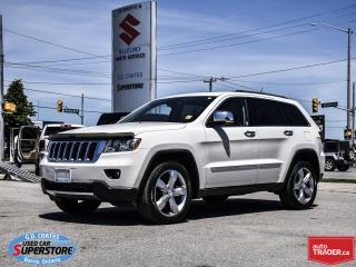 Used 2011 Jeep Grand Cherokee Limited 4x4 ~5.7L HEMI ~Nav ~Panoramic Moonroof for sale in Barrie, ON