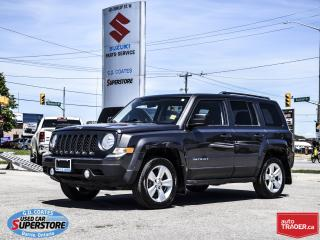 Used 2014 Jeep Patriot North 4x4 ~Heated Seats ~Power Moonroof for sale in Barrie, ON