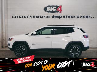 Used 2019 Jeep Compass Sport | 4x4 | Touchscreen | Backup Camera for sale in Calgary, AB