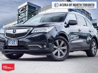 Used 2016 Acura MDX Elite Top Of The Line| DVD| Remote Start for sale in Thornhill, ON