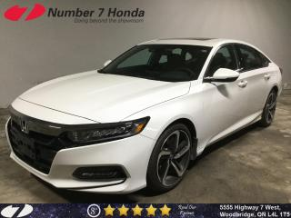 Used 2019 Honda Accord Sport| LOW KM| Sunroof| Backup Cam| for sale in Woodbridge, ON