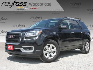 Used 2015 GMC Acadia SLE 7 PASSENGER, BACKUP CAM for sale in Woodbridge, ON