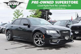 Used 2017 Chrysler 300 S - GPS, UConnect, Backup, Heated Seats for sale in London, ON