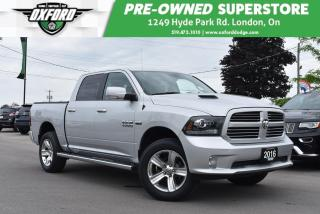 Used 2016 RAM 1500 Sport - Well Equipped, Side Steps, GPS, UConnect for sale in London, ON