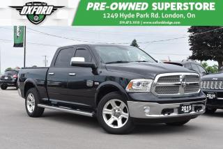 Used 2015 RAM 1500 Longhorn - One Owner, Sunroof, UConnect, Backup for sale in London, ON
