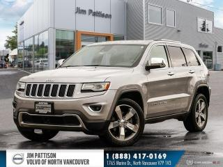 Used 2015 Jeep Grand Cherokee Limited for sale in North Vancouver, BC