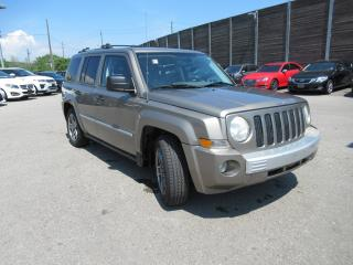Used 2008 Jeep Patriot 2008 Jeep Patriot - 4WD 4dr Limited for sale in Toronto, ON