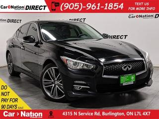 Used 2015 Infiniti Q50 | AWD| NAVI| SUNROOF| BACK UP CAMERA| for sale in Burlington, ON