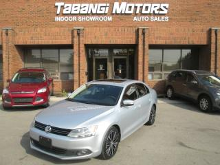 Used 2014 Volkswagen Jetta TDI | HIGHLINE | LEATHER | SUNROOF | HEATED SEATS | B\T for sale in Mississauga, ON
