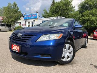 Used 2007 Toyota Camry 4dr Sdn I4 *ACCIDENT FREE* AMAZING CONDITION!!! for sale in Brampton, ON