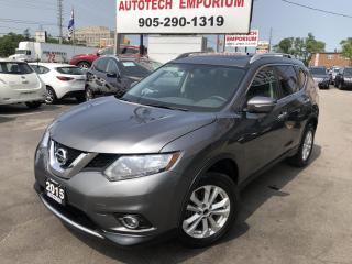 Used 2015 Nissan Rogue SV FAMILY TECH AWD 7-PASS/NAVIGATION/BLIND SPOT/SUNROOF for sale in Mississauga, ON