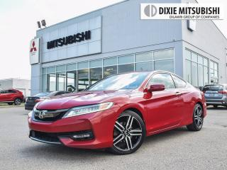 Used 2016 Honda Accord TOURING V6 NAVI   COUPE   LEATHER   HEATED SEATS for sale in Mississauga, ON