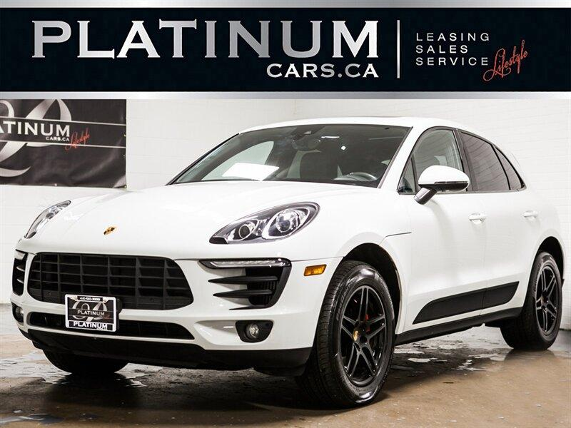 Used 2017 Porsche Macan S Pano Roof Camera Lane Depart Cooled