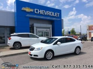 Used 2015 Buick Verano Sedan  - $106.48 B/W for sale in Bolton, ON