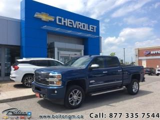 Used 2017 Chevrolet Silverado 2500 HD High Country  - $395.61 B/W for sale in Bolton, ON