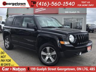 Used 2016 Jeep Patriot Sport/North|HIGH ALTITUDE| NAVI |4X4|LEATHER|ROOF for sale in Georgetown, ON