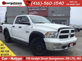 Used 2014 RAM 1500 OUTDOORSMAN | V6 |4X4| NAVI | BU CAM | TONNEAU CVR for sale in Georgetown, ON
