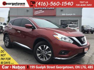 Used 2016 Nissan Murano SV | ROOF | NAVI | HTD STEERING | POWER LIFTGATE for sale in Georgetown, ON