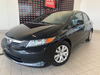 Used 2012 Honda Civic LX for sale in Terrebonne, QC